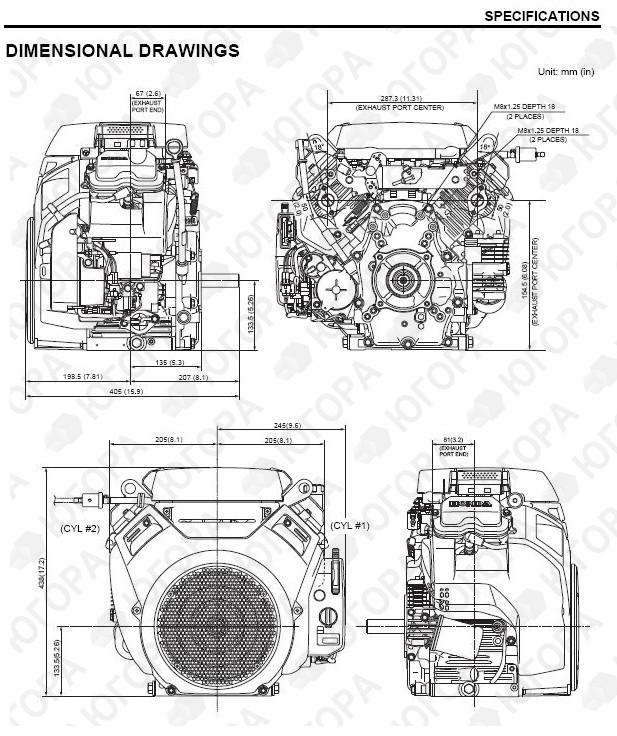 Honda gx 630 инструкция